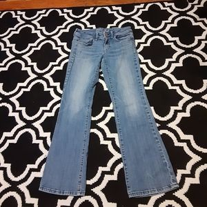 American Eagle jeans size 8 boot